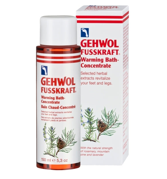 GEHWOL FUSSKRAFT WARMING BATH CONCENTRATE 150 ML