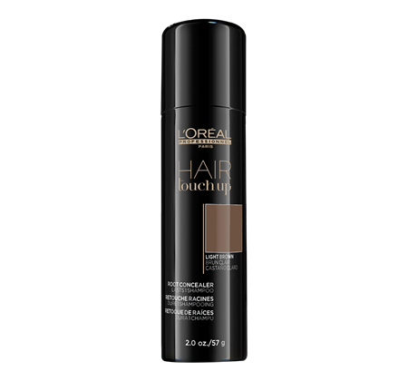 L'OREAL HAIR TOUCH UP LIGHT BROWN Professional Root Concealer | 57 g