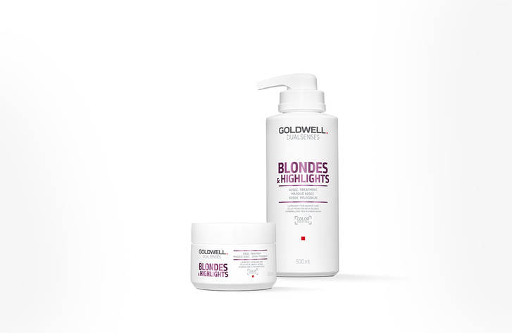 GOLDWELL BLONDES & HIGHLIGHTS 60SEC TREATMENT