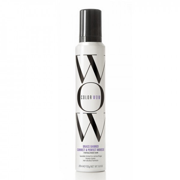 WOW BRASS BANNED MOUSSE For Blonde Hair 6.8 OZ