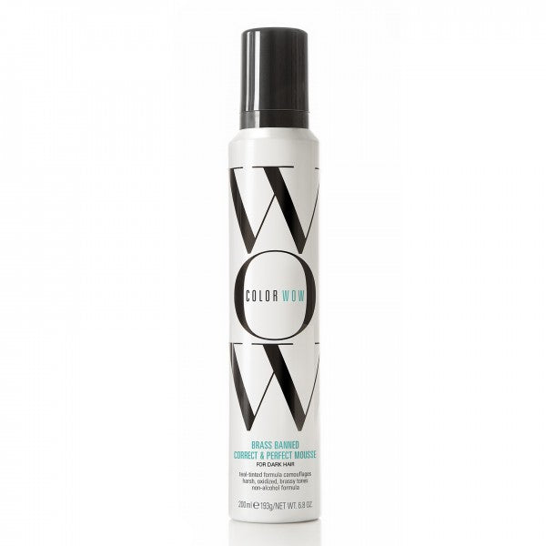 WOW BRASS BANNED MOUSSE For Dark Hair 6.8 oz