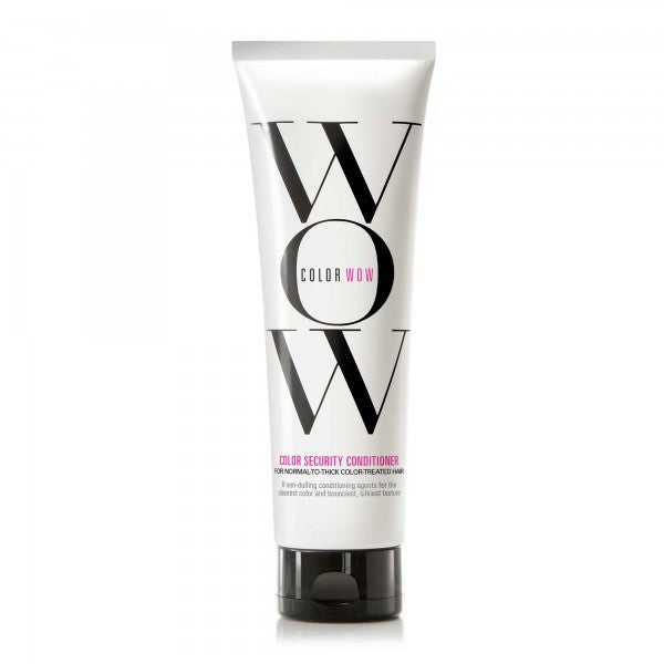 WOW COLOR SECURITY CONDITIONER Normal To Thick Hair 8.4 OZ