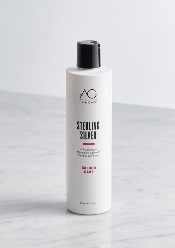 AG STERLING SILVER Toning Shampoo 296ml