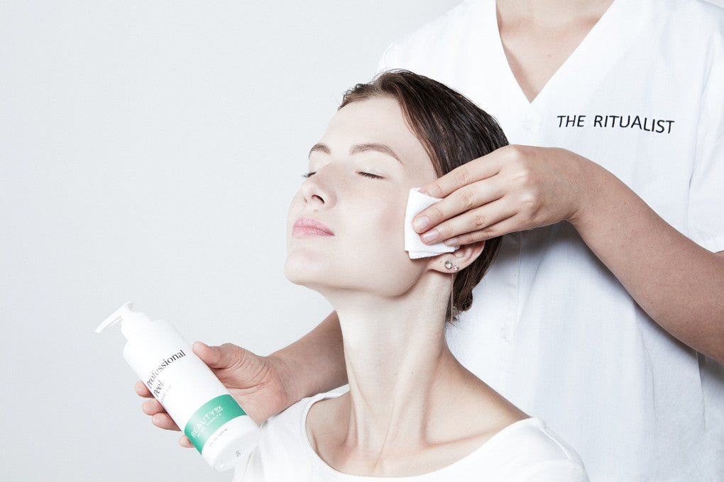 in-home professional glycolic peel