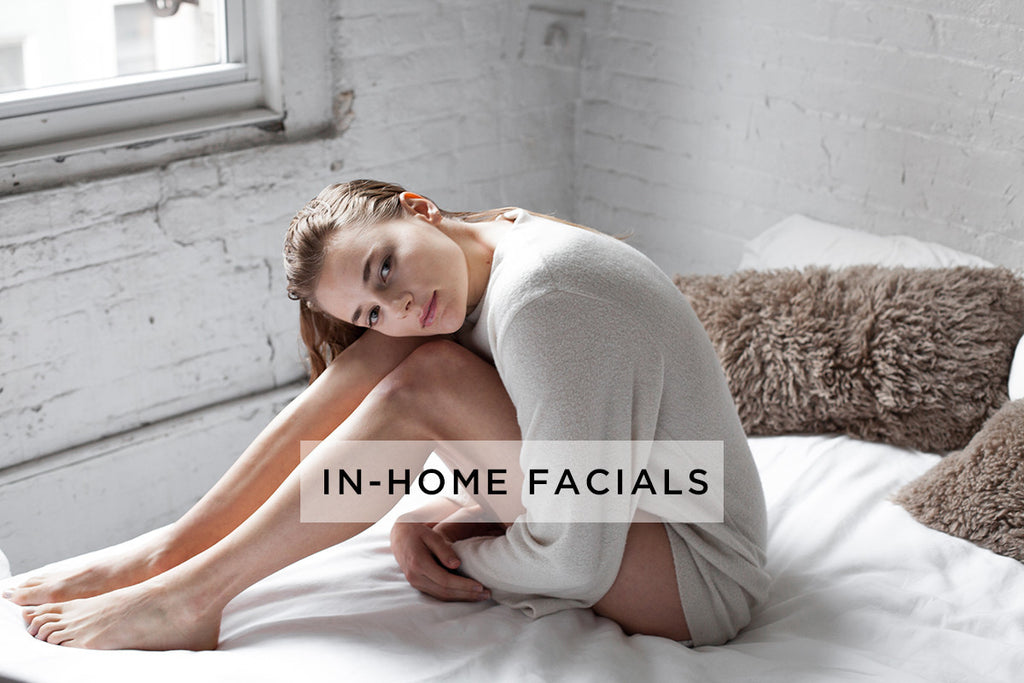 in-home facials