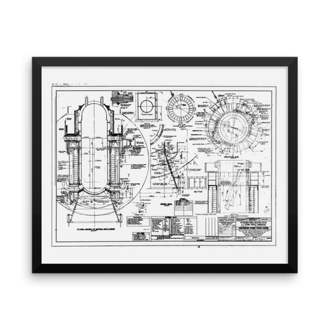 Shippingport Reactor Neutron Shield - 20x16 inch Poster