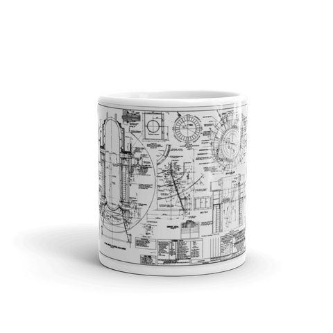 Shippingport Reactor Neutron Shield - Mug