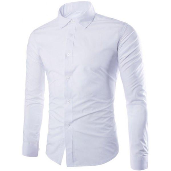 Men's Dress Shirt - White Dress Shirt - Button down shirt - men's clothing store - Men's dress clothes