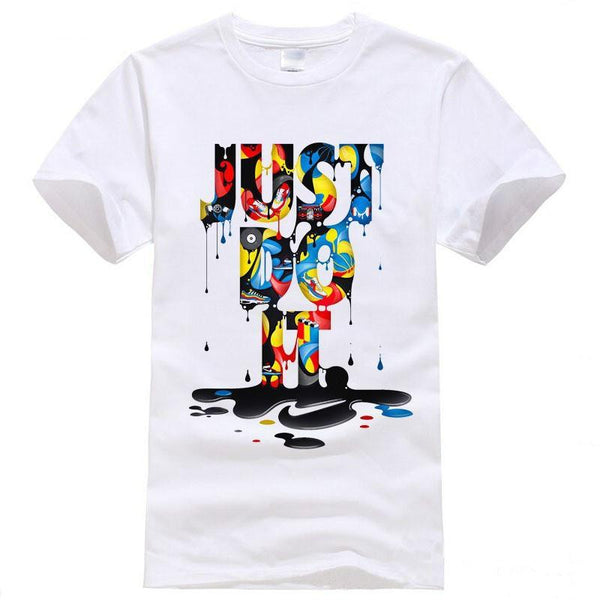 "Men's Graphic T-shirt - Just Do It"" - TrendzNow Clothing Store"