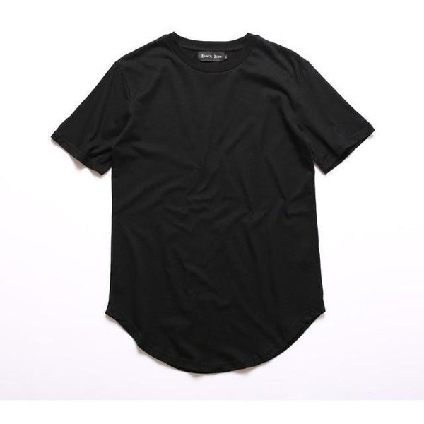 Men's Fashion Scallop Style T-Shirt - TrendzNow Clothing Store