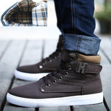 Men's High-Top Sneakers - TrendzNow Clothing Store