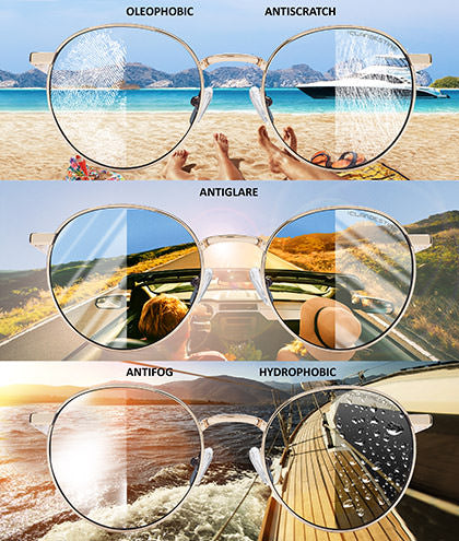 Orbita Gold Light Blue Gafas de Sol