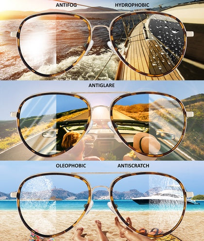 Aviator15 Gold Habana Brown Gafas de Sol