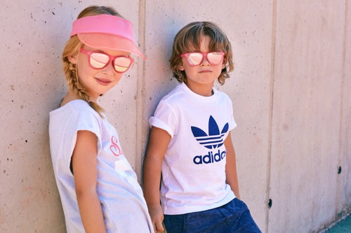 Model Kids 1-6 years Crystal Coral Rose Sunglasses