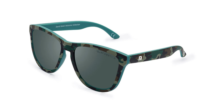 M⑧DEL KIDS MATTE CAMOUFLAGE DARK GREEN BY DAVID BISBAL