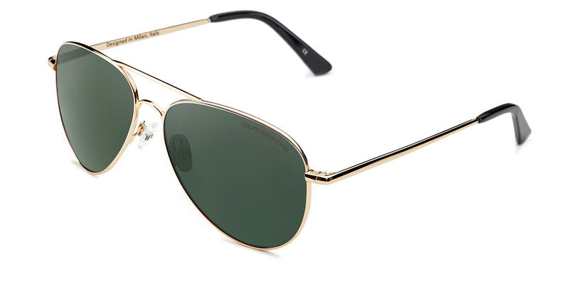 AVIAT⑩R GOLD DARK GREEN