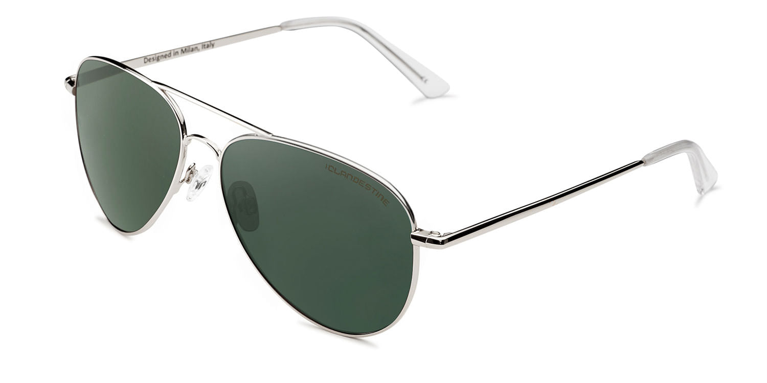 AVIAT⑩R SILVER DARK GREEN