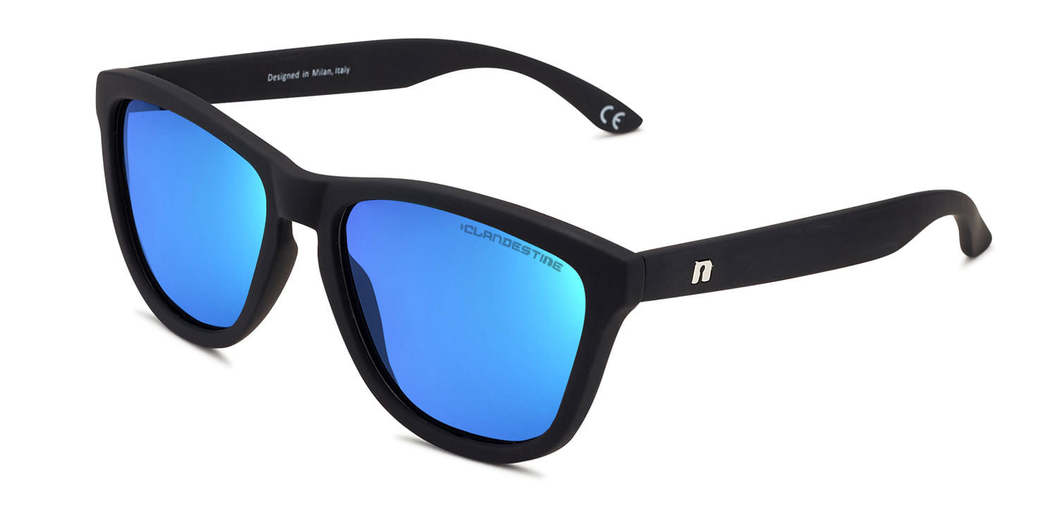 M⑧DEL MATTE BLACK LIGHT BLUE N