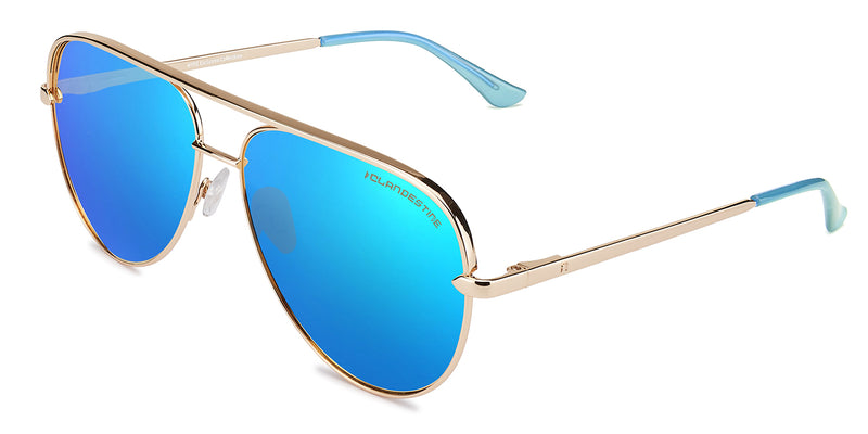 PAN⓪RAMA GOLD LIGHT BLUE BY HYPE