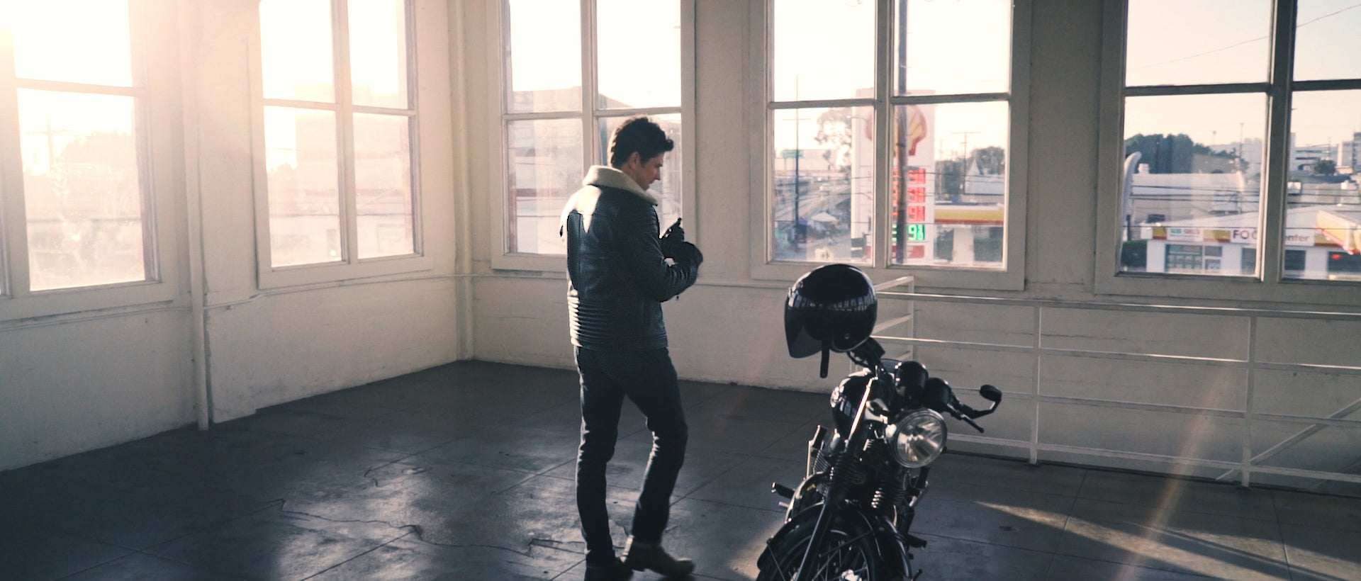the cafe racer classic motorcycle jacket vktre moto co.