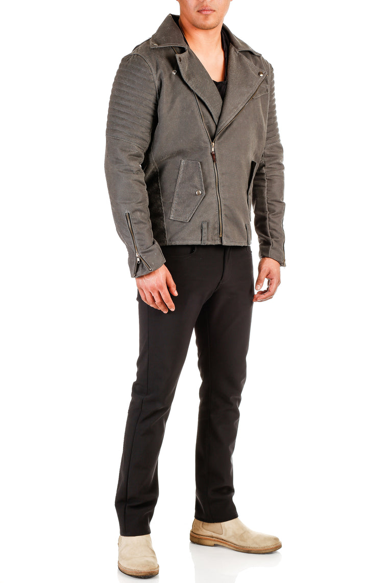 Urban Explorer Waxed Motorcycle Jacket