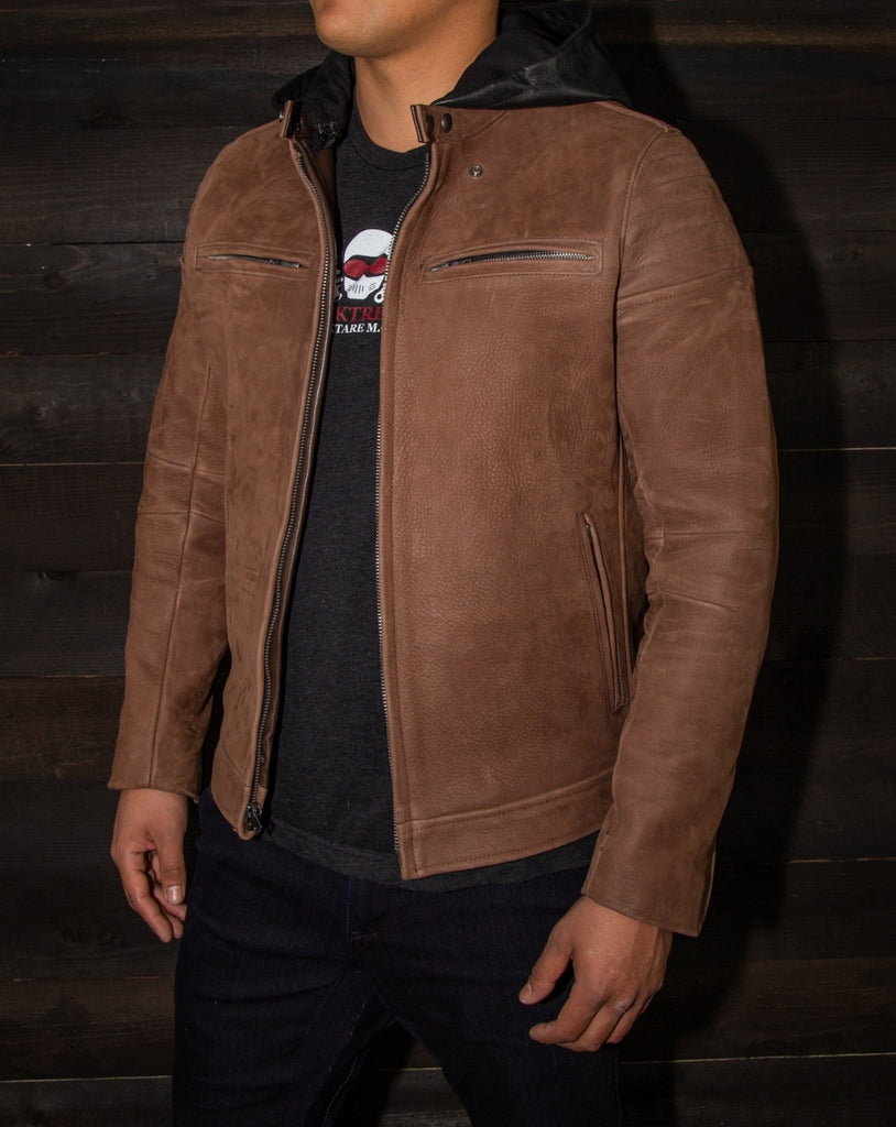 the vktre moto co nubuck jacket