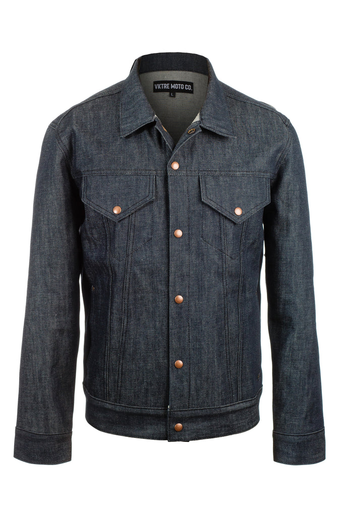 VKTRE Raw American Selvedge Denim Jacket
