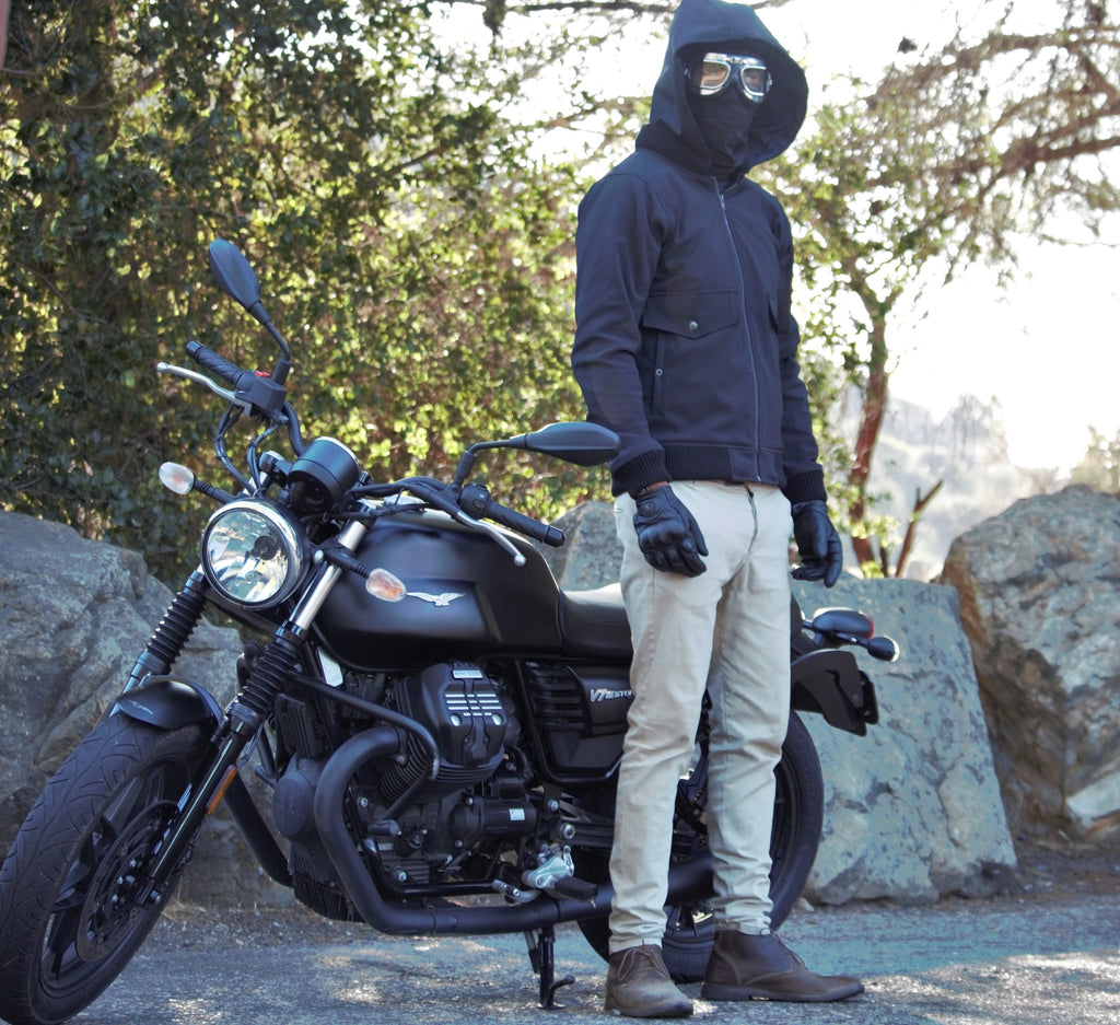 BOMBER MOTORCYCLE JACKET TESTED
