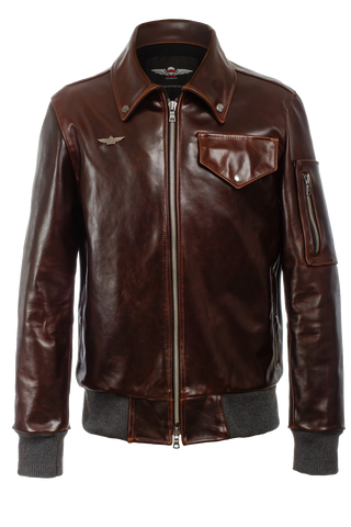 The Aviator Jacket Mk. II Italian Steerhide