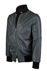 VKTRE Full Grain Leather Flight Jacket