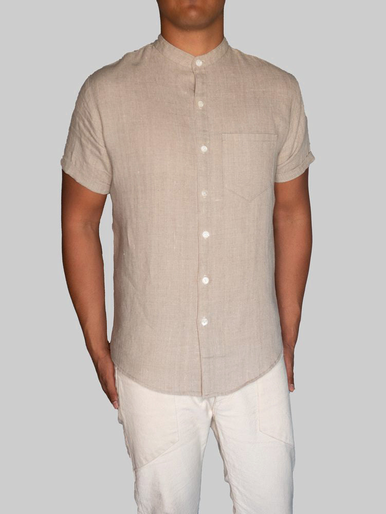 Linen Button Up