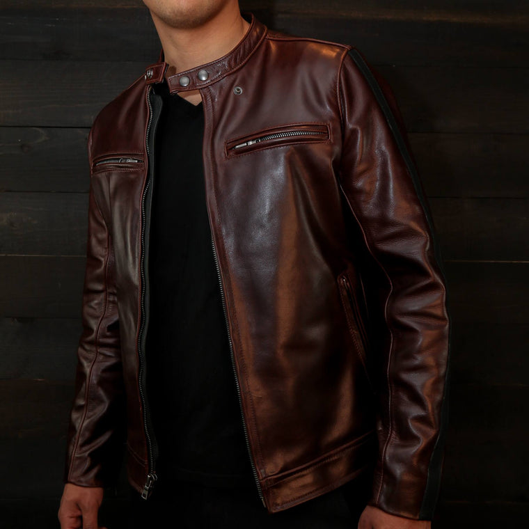 The Pilot Racer Jacket In Italian Steerhide