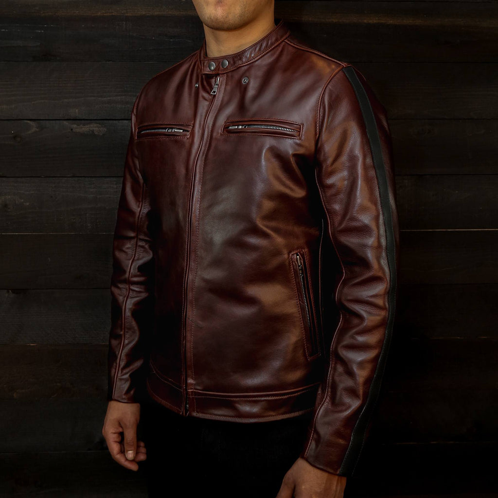 vktre moto co nubuck motorcycle jacket