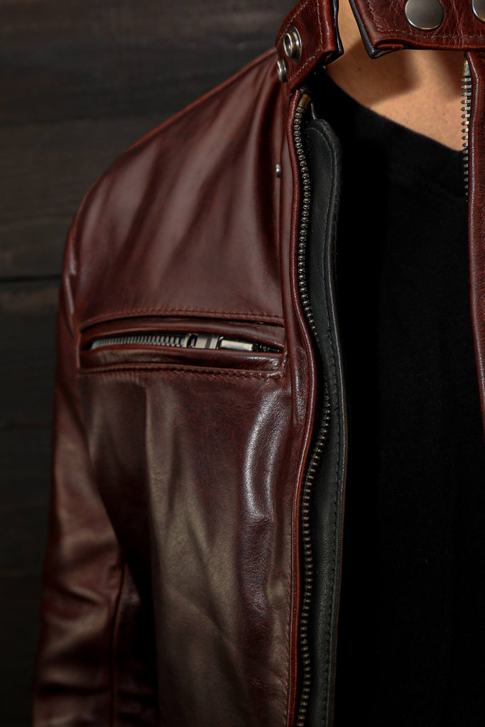 vaktare mg leather motorcycle jacket