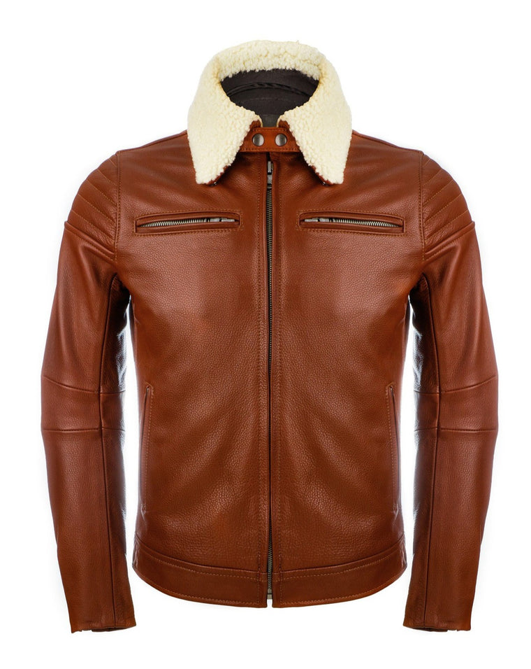 The Pilot Racer Jacket with Detachable Collar