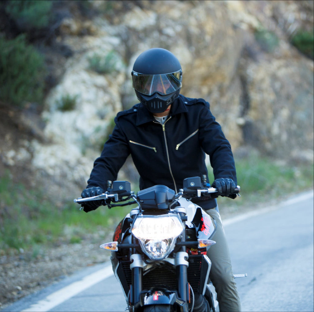 stylish motorcycle gear for men greyfell