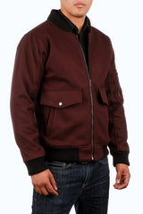 CIVILIAN WOOL FLIGHT JACKET