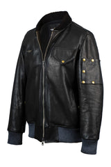 Vaktare MG leather jacket aviator style