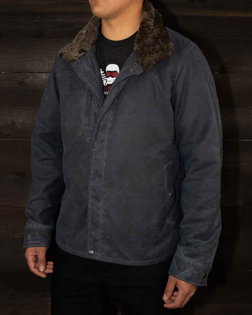 THE RANGER V.2 WAXED MOTORCYCLE JACKET