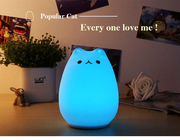 Lovely Popular Cat Night Light- Dashlux