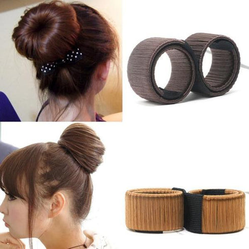 French Twist Magic DIY Hair Bun Maker