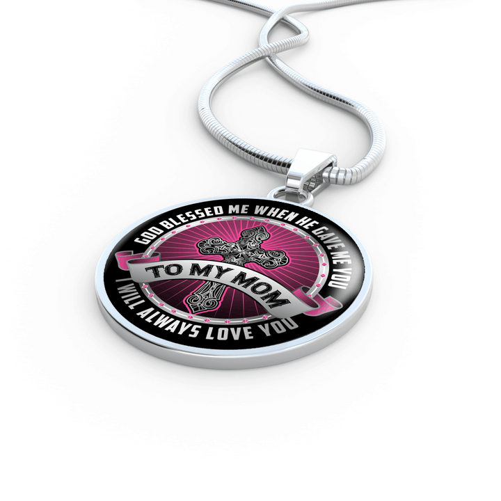 I Will Always Love You Mom Necklace or Bracelet - Dashlux