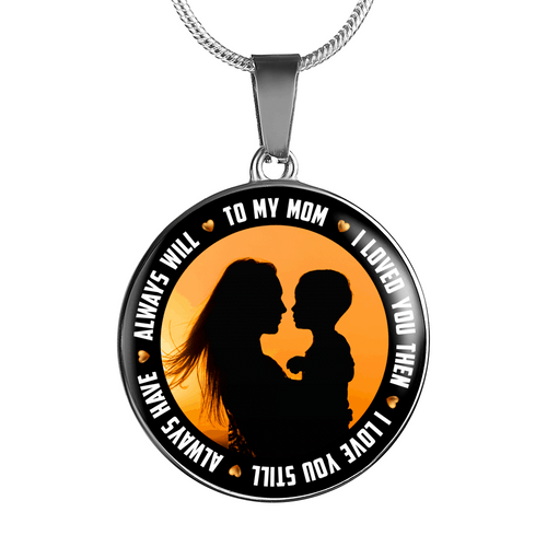 I Love You Mom Necklace or Bangle - Dashlux