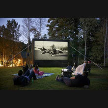 HOME OUTDOOR MOVIE SCREEN KIT