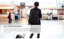 Travelling with Backpack in Airport - Dashlux
