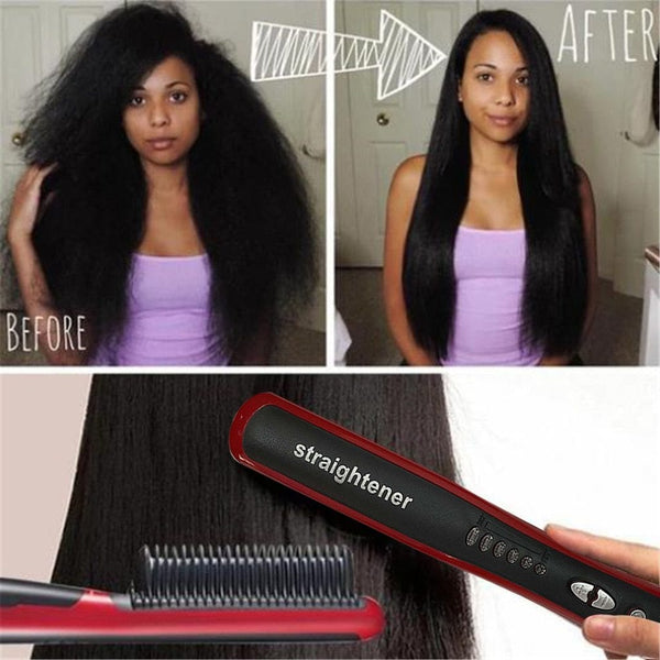 Straightener Styler Brush