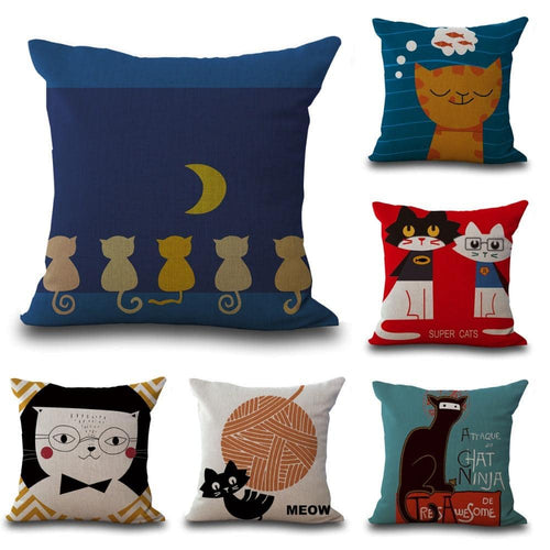 Cat Toss Pillow - Dashlux