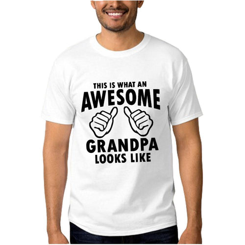This Is What An Awesome Grandpa Looks Like T-shirt - Dashlux