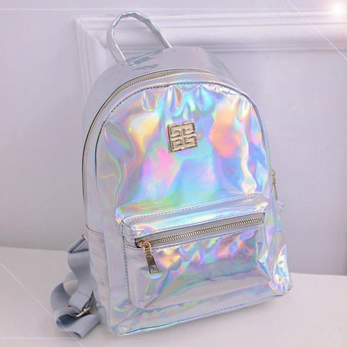 Fashion Holographic Backpack for Women Travel - Dashlux