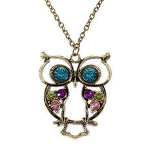 Hollow Owl Necklace - Dashlux